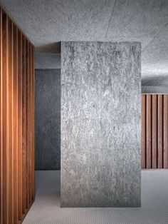Amazing Timber Cladding Ideas to Spike up Your Building Design Painted Osb, Osb Plywood, Osb Board, Interior Walls, Interior Design, Luxury Swimming Pools, Indoor Swimming, Timber Cladding, Building Design