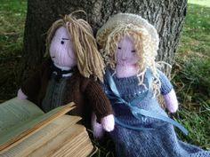 Knit for Victory: Jane Austen costume drama dolls