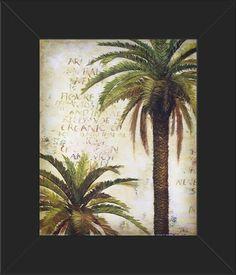 8x10 FRAMED Palms & Scrolls 1 by Patricia Pinto Fine Art Print Innerwallz,http://www.amazon.com/dp/B00IX5KV5I/ref=cm_sw_r_pi_dp_iGgptb1DQQAHAHSD