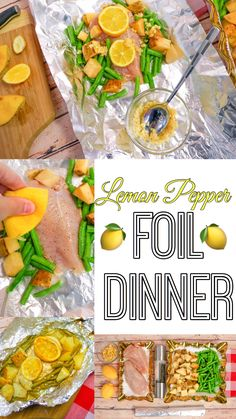 LEMON PEPPER FOIL DINNER