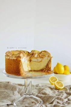Damy's Kitchen: Limonlu Mereng Cheesecake