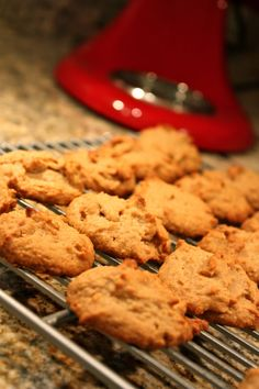 PB Cookies -- peanut butter -- Against All Grain