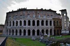 Theatre of Marcellus | Remains of Theatre of Marcellus, Rome, completed 13 BC.
