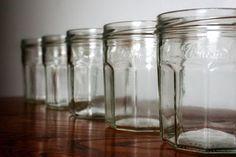 Drinking from jam jars?