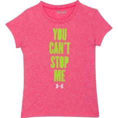Under Armour® Girls' Stop Me T-shirt