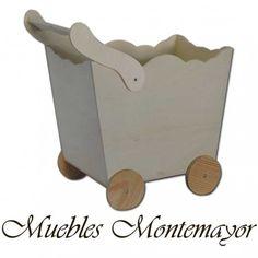 Coche para muñecas con ruedas 25,75 € Wooden Toys, Car, Wheels, Furniture, Wood Toys, Automobile, Vehicles, Cars, Autos