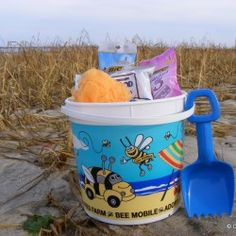 Cape Abilities Bucket-perfect for Cape Cod beaches.