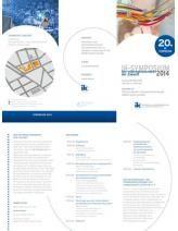 Save the Date: 28.03.2014 in Frankfurt. Das 20. IK Symposium mit hochkarätigen Inhalten und Speakern. (Dueck, Lewandowski, Klems)