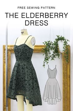 Dress Sewing Patterns, Sewing Patterns Free, Free Sewing, Clothing Patterns, Dress Sewing Tutorials, Diy Clothing, Sewing Clothes, Sow Clothes, Fashion Sewing