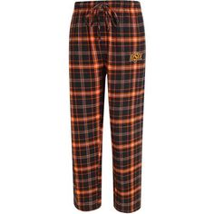 Concepts Sport Men's Oklahoma State University Ultimate Flannel Pant (Orange, Size XX Large) - NCAA Licensed Product, NCAA Men's Fleece/Jackets at ...
