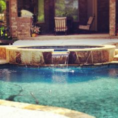Most Spas And Hottubs Made By Preferredpools Have Waterfeatures That Pour Into