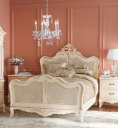 Charming Chris Madden French Country Bedroom Group... This Is What My Two Little  Girls