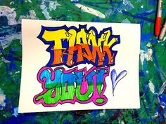 smART Class: Graffiti letters