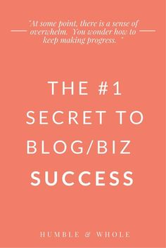 Are you struggling to reach your goals within your blog or business? Are you wondering why you aren't making any progress, despite working day after day? In this post, we're describing the best strategy which, if implemented, will guarantee your success. Don't miss it!