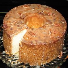 Pecan Sour Cream Pound Cake Recipe - All Recipes & ZipList