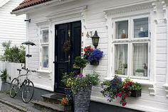 my house 2 Scandinavian Cottage, Home Focus, Beautiful Norway, Nordic Home, Country Homes, House 2, Exterior, Outdoor Decor, Log Home