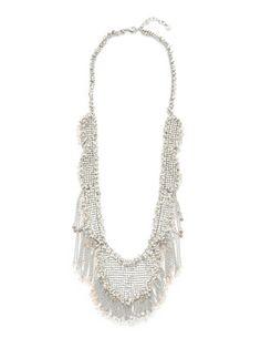Swarovski Jewelry Renewal Oversized Bib Necklace