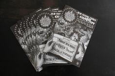 "fanzine metal by ged ""dead church #9"""