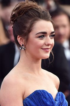 "Arya Stark (Maisie Williams) | This Is How Different ""Game Of Thrones Actors"" Actually Look In Real Life"