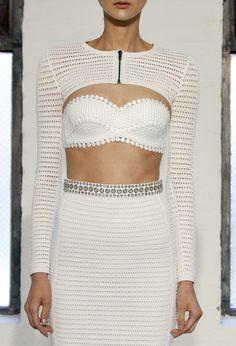 Catherine Malandrino, all white#Eat.Fash.Glam.