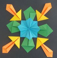 Art. Paper. Scissors. Glue!: Symmetrical Origami