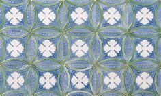 Tile Art Nouveau by Sacavém Factory, Portugal, 1900/1920. Aveiro City Museum, CC BY