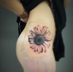 Sunflower Tattoo Design by Madison Hodges