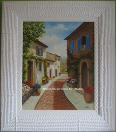 Pintura em tela - Uma rua encantada (vendido)
