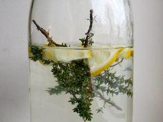 Urtete med timian og citron