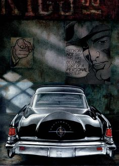 My tribute to Lincoln Continental Mark II, 1956.