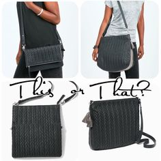 This or that- a crossbody/clutch or a hobo/crossbody. Can't go wrong with either look. Stella And Dot Jewelry, Crossbody Clutch, Other Accessories, Women Empowerment, Happy Shopping, Shop Now, Dots, Stella Dot, Clothes