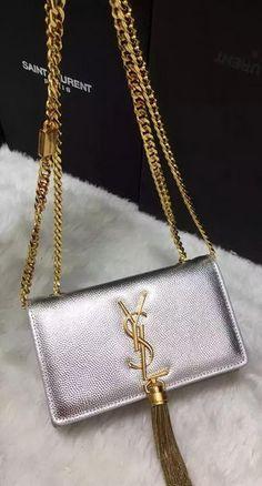 ee3f61229253 YSL Crossbody Shoulder Bag Y9012 Silver Ysl Crossbody Bag