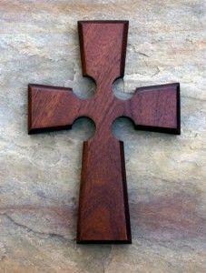 Irish Cross Red Mahogany
