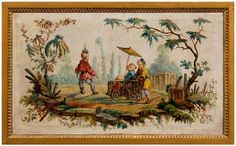 Southern Folk Artist & Antiques Dealer/Collector: French Chinoiserie