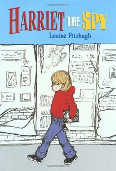 Harriet the Spy by Louise Fitzhugh #Books #Kids #Adventure