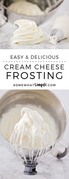 If heaven had a flavor, this would be it! This is an easy frosting recipe that is punch-you-in-the-face good! Add it to the top of your favorite cookies and cupcakes, or whip up a batch and dive in with a spoon!