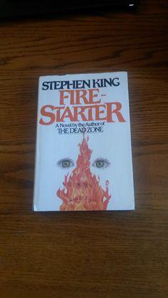 FIRE STARTER Stephen King 1980 Viking 1st by LightsOutBookshoppe