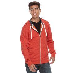 Men's Urban Pipeline® Full-Zip Hoodie, Size: Medium, Red