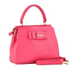 Fushia - Simple Elegant Ladies' Handbag