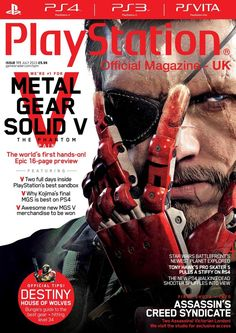 Official #PlayStation Magazine 111. What happens when Konami lets editor Matt loose in its open-world for two days straight? Find out in our exclusive 16-page feature.