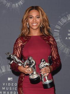 Beyoncé Won 3 Moonmen and the Video Vanguard Award