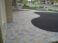 stone driveway designs
