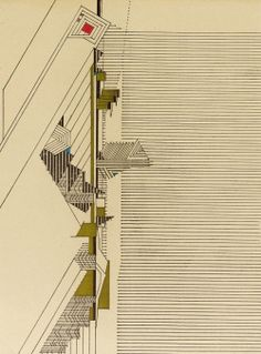Frank Lloyd Wright (1946) #architecture #drawing