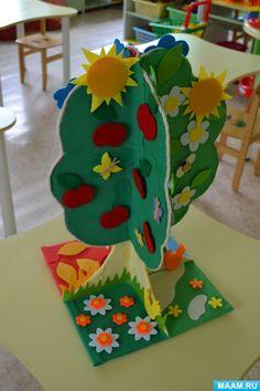 Дидактическое пособие «Дерево яблоня «Времена года» Фото Math Crafts, Felt Crafts Diy, Leaf Crafts, Easy Paper Crafts, Tree Crafts, Flower Crafts, Preschool Crafts, Easter Crafts, Art For Kids