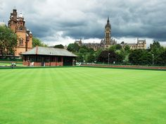 Kelvingrove, Lawn Bowls - venue development - 2 years to go! Commonwealth Games, Glasgow Scotland, Bowling, Lawn, Queens, To Go, Backyard, Spaces, Sport