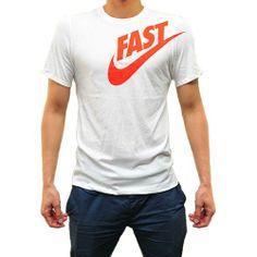 Nike Mens Fast Classic White/Orange M26 - Shipping Cap Promotion- - TopBuy.com.au