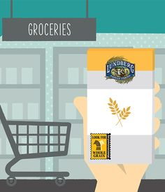Shopping for whole grains is easy  when you look for the Whole Grain Stamp.