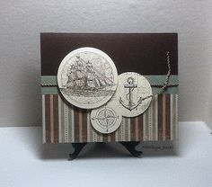 Thursday, June 30, 2011  Paper Dreams: Another Ship card The Open Sea