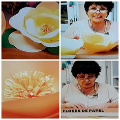 Flores de papel Paper, Home, Creative Decor, Creativity, Party Crafts, Flowers, Manualidades