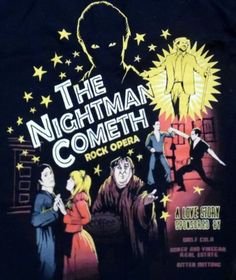The-Nightman-Cometh-T-Shirt-from-Its-Always-Sunny-in-Philadelphia-Size-Small